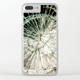 Web of Glass Clear iPhone Case