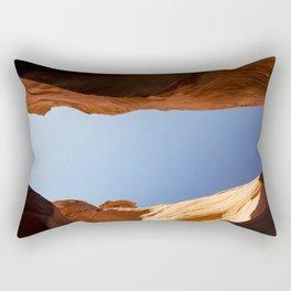 Rattlesnake Canyon, AZ Rectangular Pillow