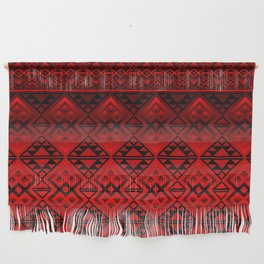 The Lodge (Red) Wall Hanging