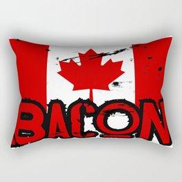 Canadian Bacon Rectangular Pillow