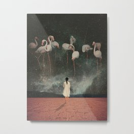 Hanging on to a Dream Metal Print