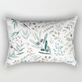Eucalyptus Leaf Rectangular Pillow