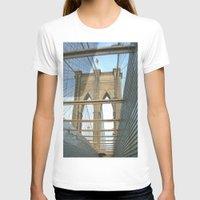 brooklyn bridge T-shirts featuring Brooklyn Bridge by BestSimpleJourney