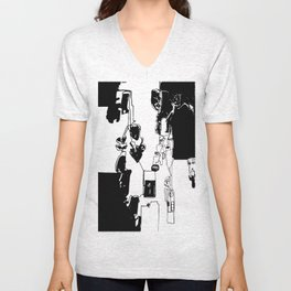 conflicted collection Unisex V-Neck