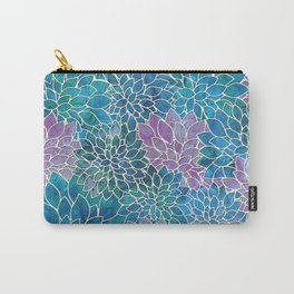 Floral Abstract 33 Carry-All Pouch