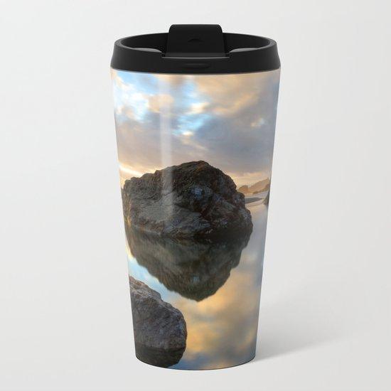 Moonstone Sunset Metal Travel Mug