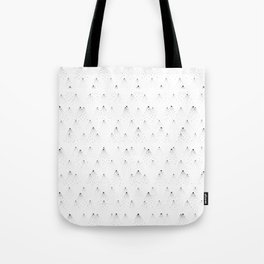 poppy seed dot pattern Tote Bag