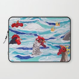 Chicken Dipping Laptop Sleeve