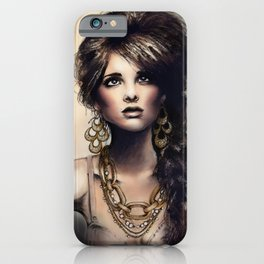 Haute Jewel iPhone Case