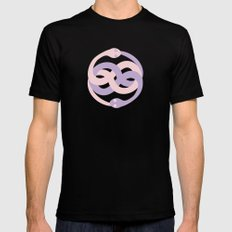 Cute auryn Mens Fitted Tee Black MEDIUM