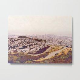 Misty Frisco (San Francisco sous la brume) Metal Print