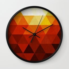 Cosmic abstract and colorful III Wall Clock