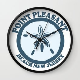 Point Pleasant Beach - New Jersey. Wall Clock