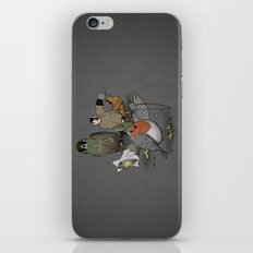 Robin and his merry friends. iPhone & iPod Skin