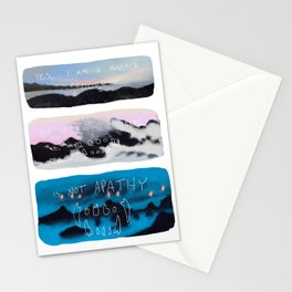 Monster Comic Stationery Cards