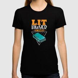 Lit Lawyer in training shirt design T-shirt