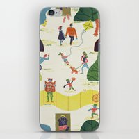 central park iPhone & iPod Skins featuring Central Park by Brian Michael Gossett