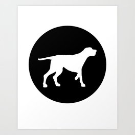 Redbone Coonhound Art Print