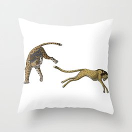 Tag, You're It Throw Pillow