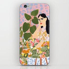 Botanical Lady iPhone Skin