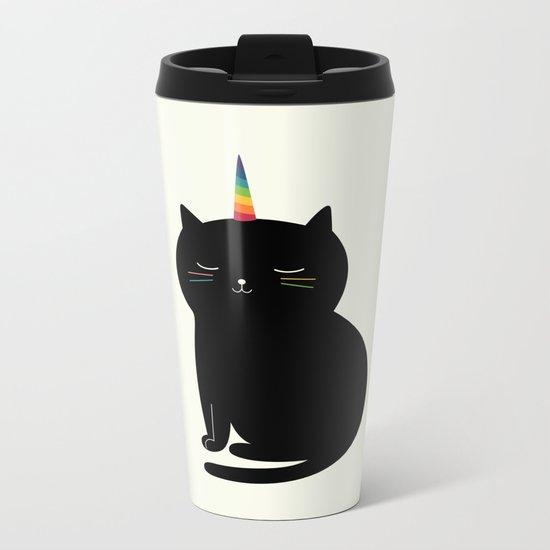 Caticorn Metal Travel Mug