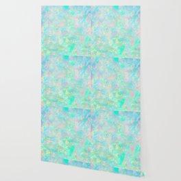 Light Blue Opal Wallpaper