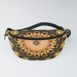Gold Star Bohemian Mandala Design Fanny Pack