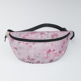 Pink Cowhide print Fanny Pack
