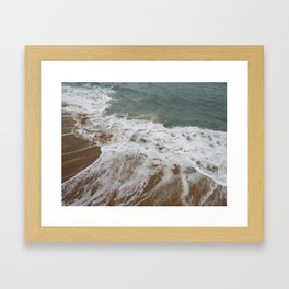 The Violence is a Brewing Framed Art Print