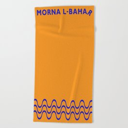 Morna l-Bahar  Beach Towel