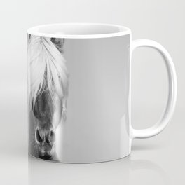 Portrait of a Horse in Scotish Highlands Coffee Mug