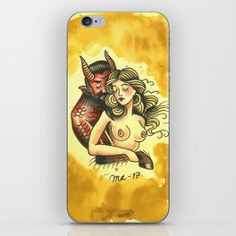 Learn to love what you've been taught to fear iPhone Skin