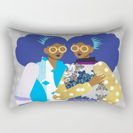 Winter Princesses Rectangular Pillow
