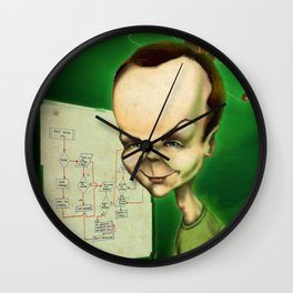 St. Sheldon Wall Clock