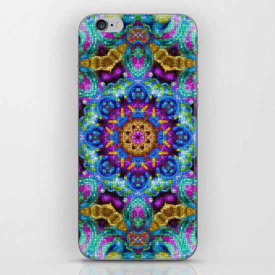 Colorful Mosaic Mandala iPhone & iPod Skin