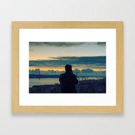 Photographing Lisbon Framed Art Print
