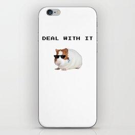Funny Guinea Pig Meme iPhone Skin