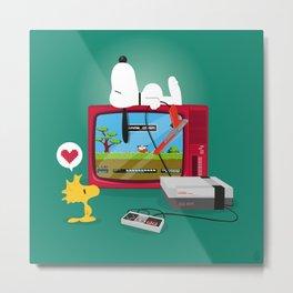 Duck Game Metal Print