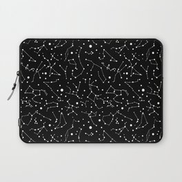Zodiac Signs Constellations B&W Laptop Sleeve