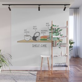 Weekend self-care Wall Mural