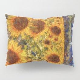 Sunflowers Vincent van Gogh Pillow Sham