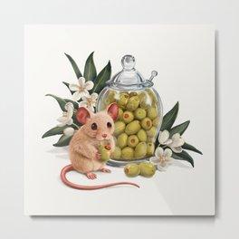 Yummy olives Metal Print