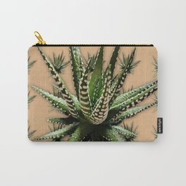 Aloe Vera abstract field Carry-All Pouch