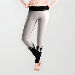 1D Silhouettes Leggings