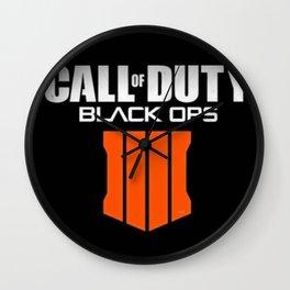 COD  Black Ops 4 Wall Clock