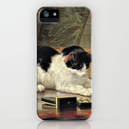 Kitten's Game - Digital Remastered Edition iPhone Case
