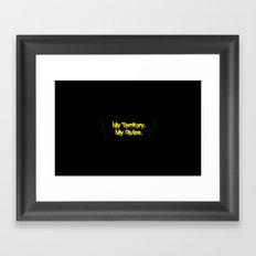 myrulez Framed Art Print