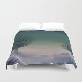 Morning frost Duvet Cover