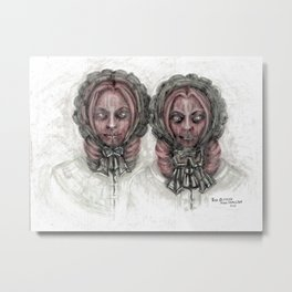 From the Ghoul Closet - The Outcasts Metal Print
