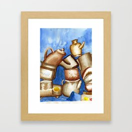 Loza Framed Art Print